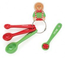 Yummy Yuletide Gingerbread Measuring Spoons